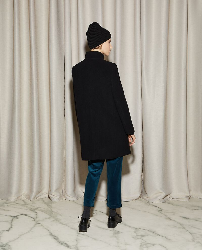 Cappotto in mista lana donna