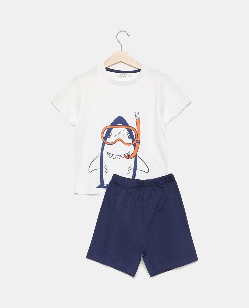 Set pigiama t-shirt e shorts puro cotone bambino cover