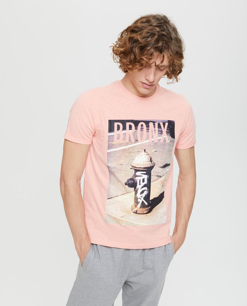 T-shirt puro cotone stampa fotografica