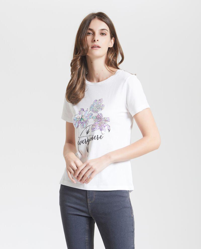 T-shirt stampata donna