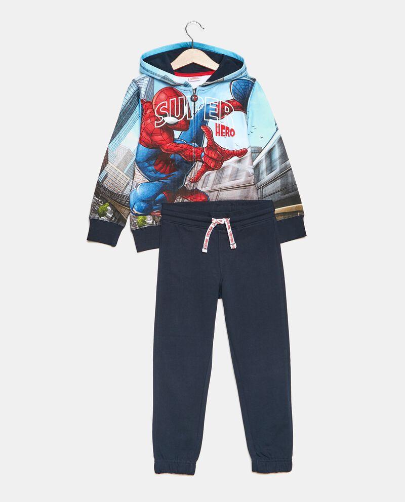 Set jogging stampa Spiderman bambino