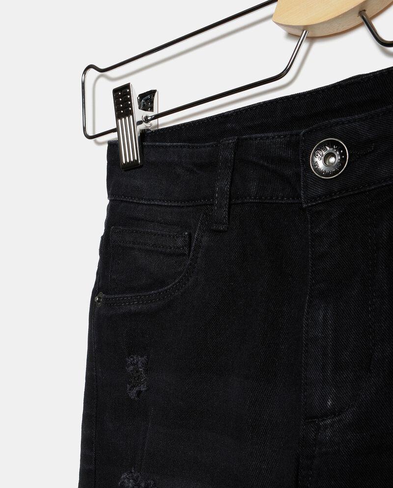 Jeans effetto ruined ragazza