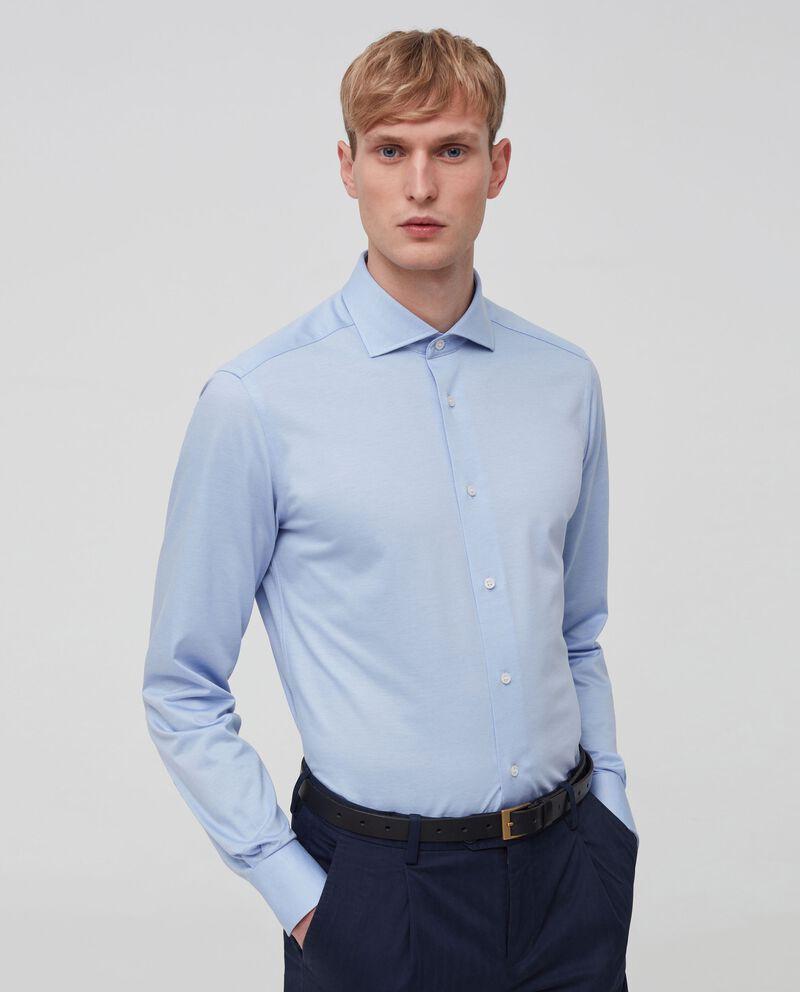 Camicia in puro cotone tinta unita cover