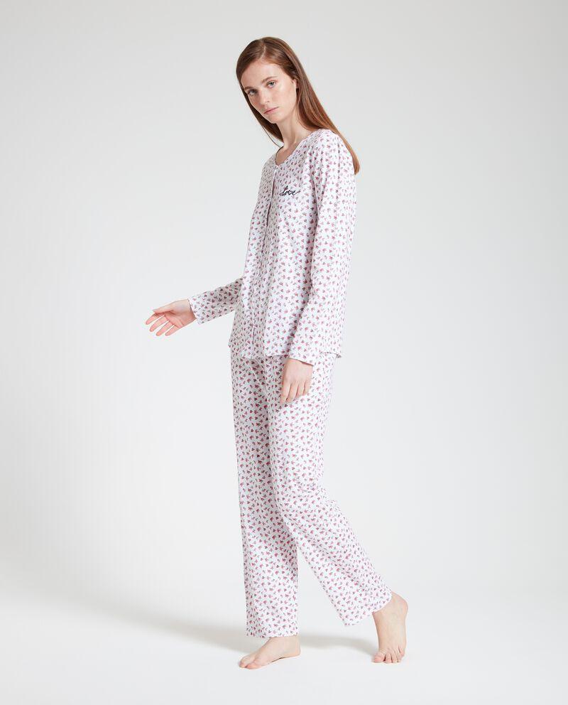 Set pigiama in puro cotone donna