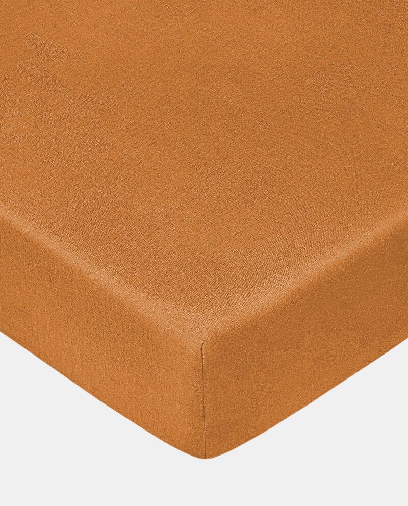 Lenzuolo con angoli di puro cotone cover