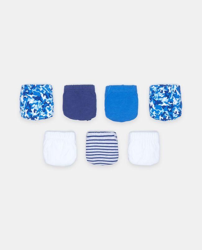 Pack 7 slip in puro cotone bambino