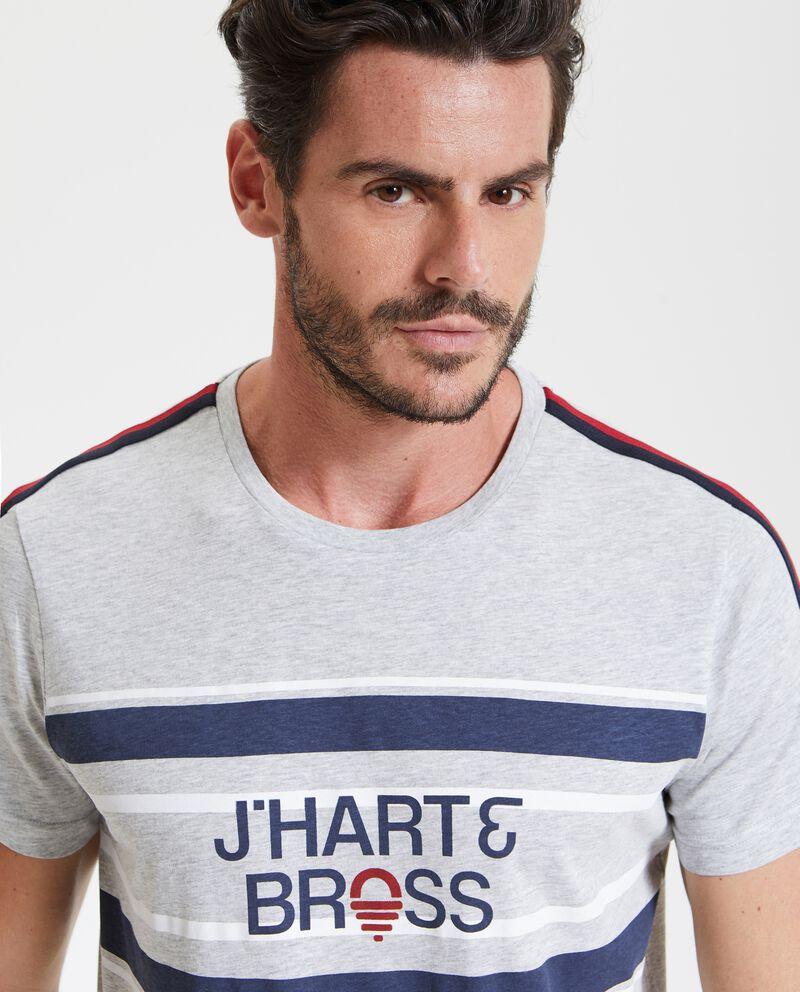 T-shirt bande fitness uomo