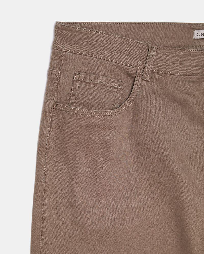 Pantaloni classici in tinta unita slim fit uomo