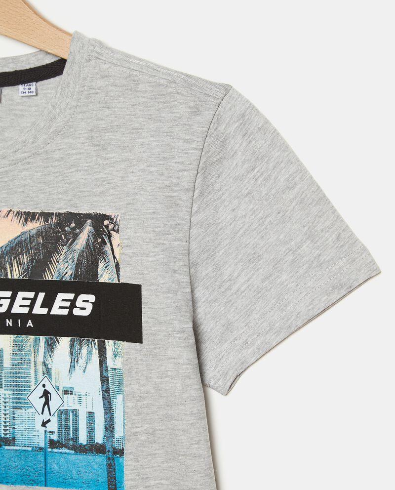 T-shirt in cotone misto viscosa ragazzo