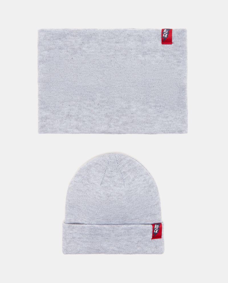 Set cappello e sciarpa ragazzo