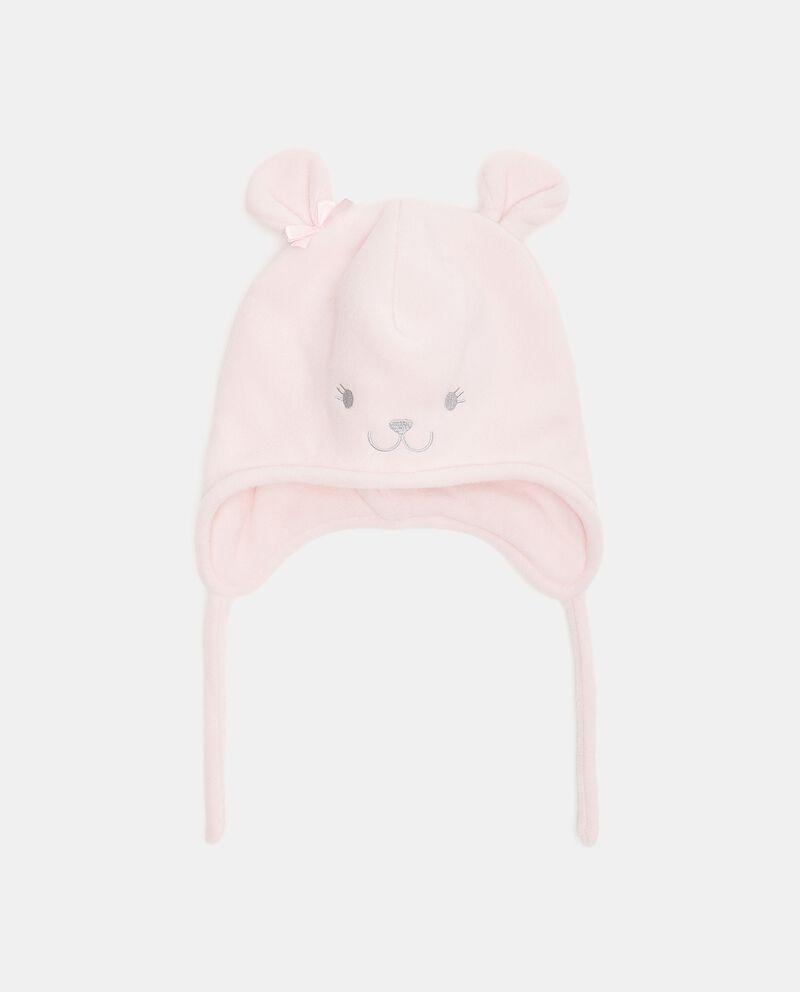 Cappellino in pile a forma di orsetto neonata cover