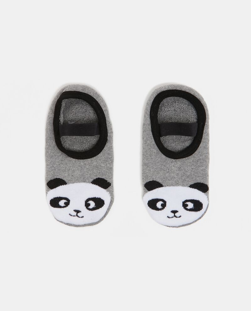 Calzini con panda bambina