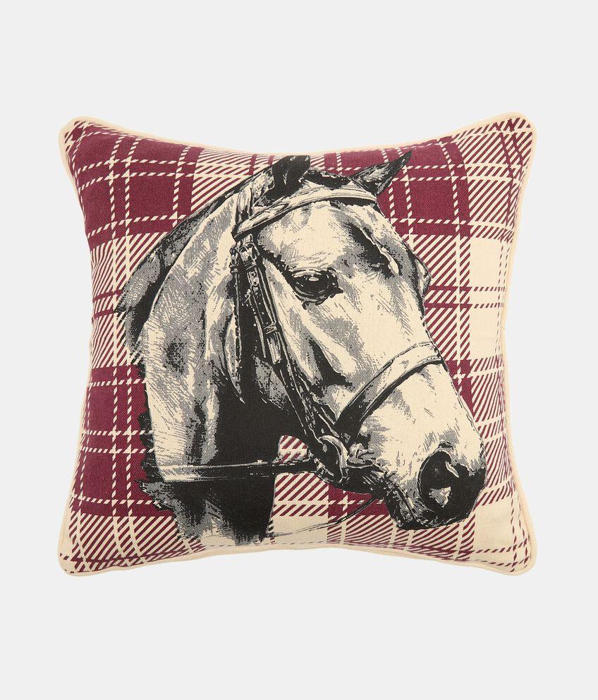 Cuscino con stampa cavallo double 1