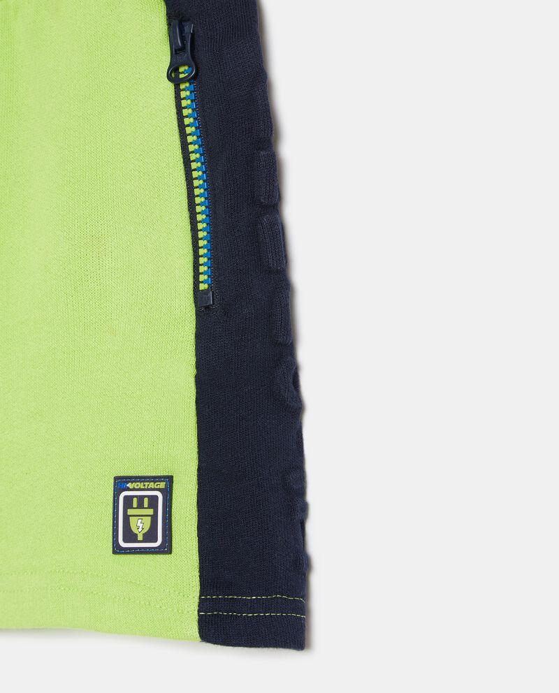 Shorts in cotone organico con coulisse bambino