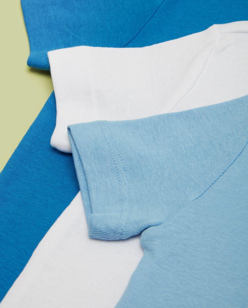 Five pack magliettine intime in puro cotone